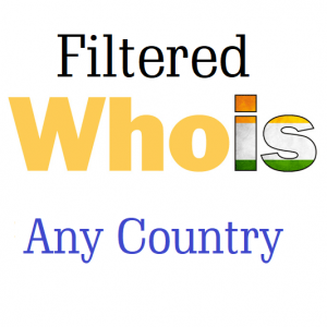 Filtered Whois Database